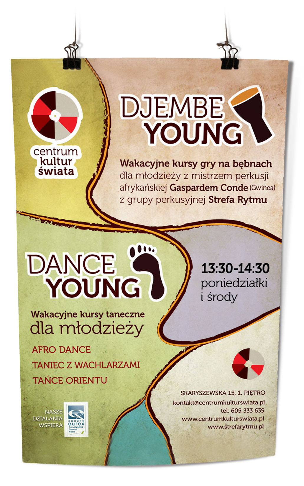 plakat Djembe Young