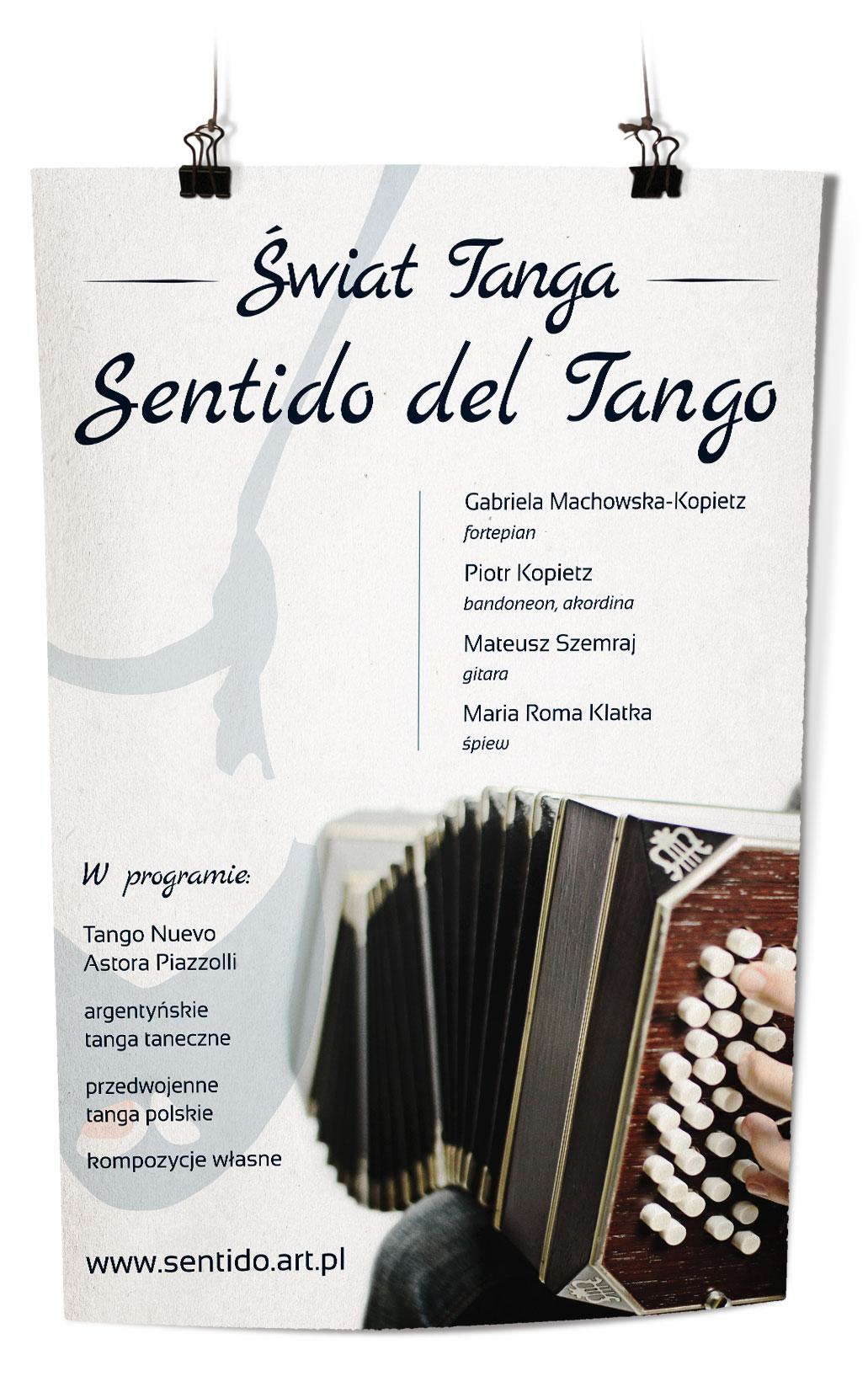 plakat Sentido del Tango